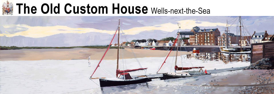 Wells Quay at Dawn - The Old Custom House Bed and Breakfast